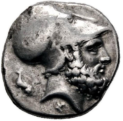 Ancient Greece - Lucania, Matapontum (340-330 BCE) AR Nomos/Stater, Leukippos, ear of corn