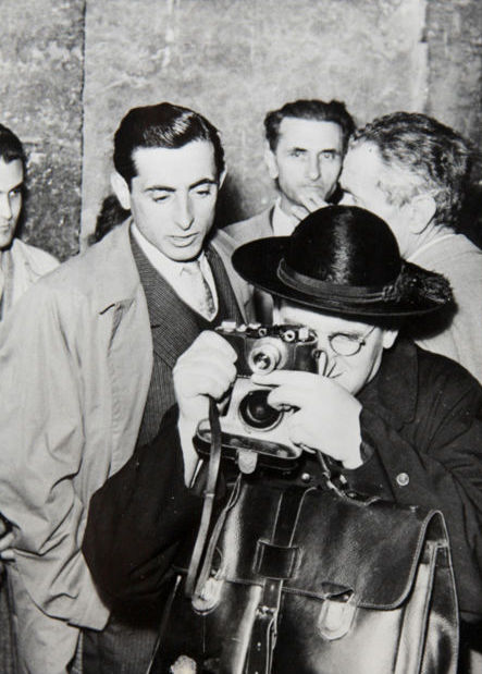 Various photographers - Collection of various photographers with cameras, c1940's/50's/60's
