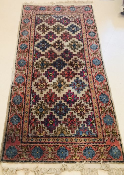 Rare Turkoman antique rug