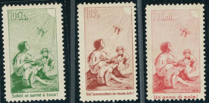 Switzerland 1912 - Pro Juventute - Unificato A/C