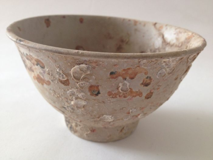 14th-15th Century Song Dynasty Early Ming Dynasty  Painted Ritual Bowl Ancient China