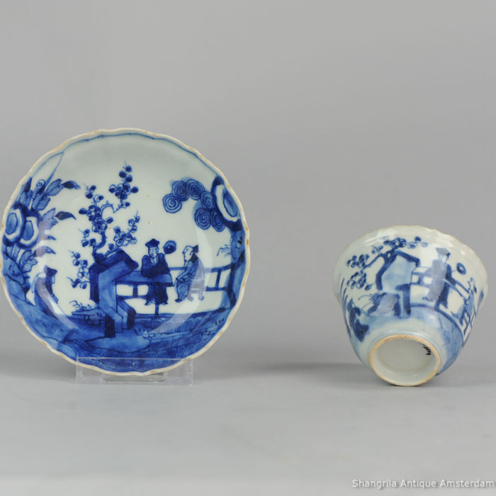 Antique high quality 17 / 18th c Japanese Porcelain Bowl Arita Edo Japan - Japan - 17/18th century