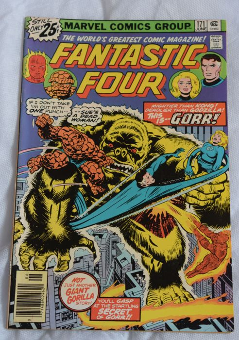 Lot van 27 originele Amerikaanse Marvel Comics Fantastic Four (en gerelateerde titels)