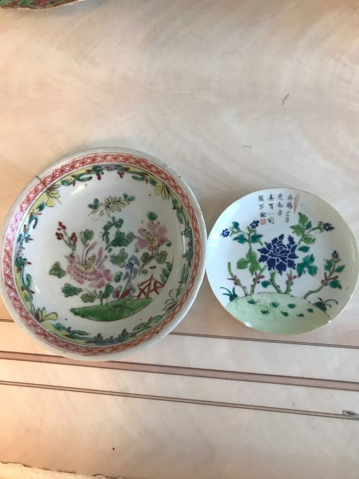 Porcelain plates - China - 19th century