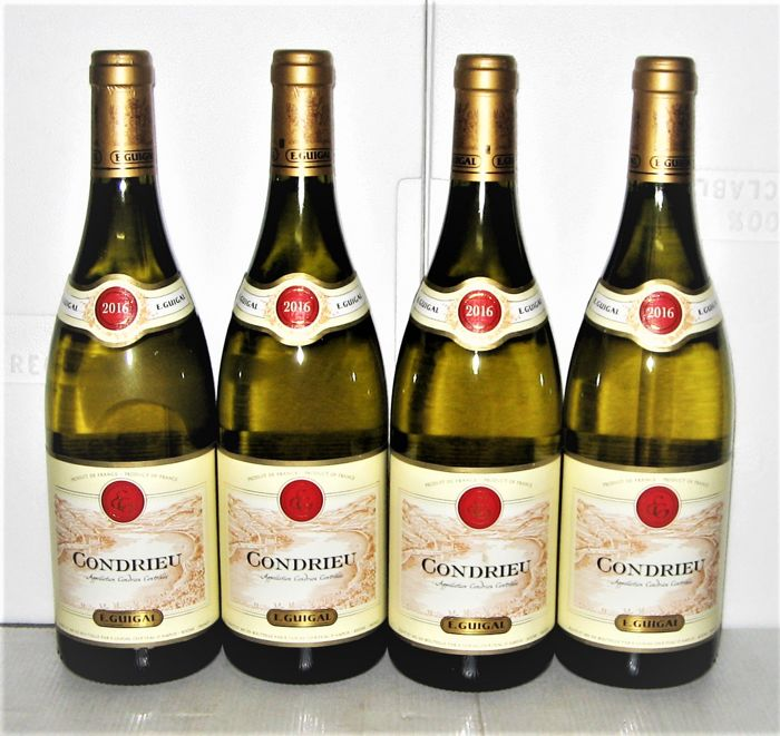 2016 Condrieu, Domaine E.Guigal – Lot of 4 bottles