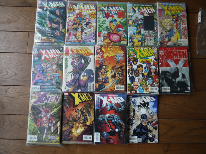Uncanny X-Men - consecutive run - 249 to 510 - 260 x sc