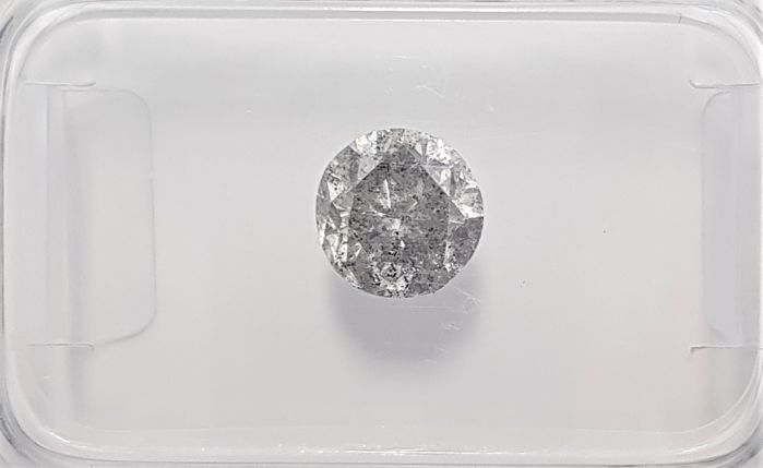 1.01ct Natural Round Brilliant Cut Diamond F I1 - No Reserve!