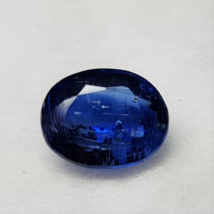 Kyanite - Cyanite oval cut 5.32 ct