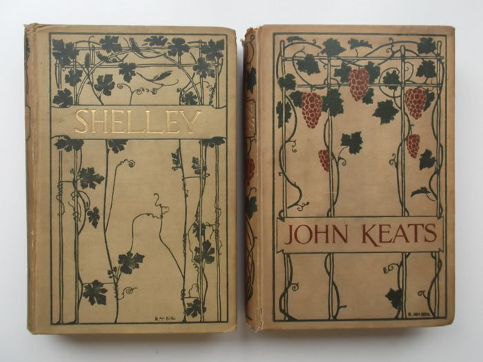 Keats & Shelley - Poems. Illustrated by Robert Anning Bell - 1897