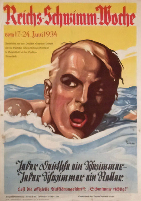 Würbel - Reichs-Swimming-Week Berlin - 1934