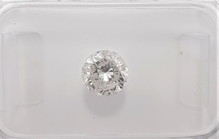 0.67ct Natural Round Brilliant Cut Diamond G SI3 - No Reserve!