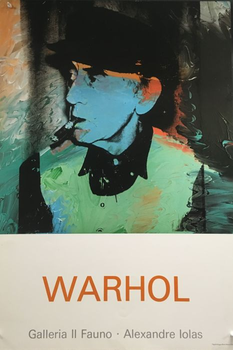 Andy Warhol - Portrait of Man Ray - 1980s