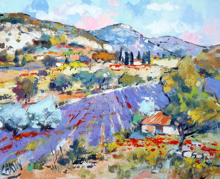 Claude Carvin (1956) - Un air de Provence