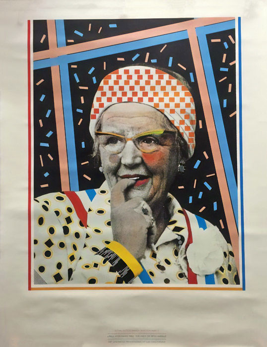 Paul Koeleman - Royal Dutch Family Triptych II: The Lady of Fifth Avenue - 1982