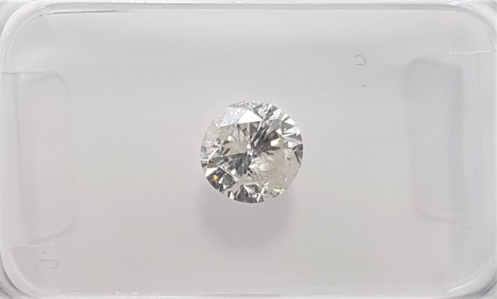 0.65ct Natural Round Brilliant Cut Diamond I I1 - No Reserve!