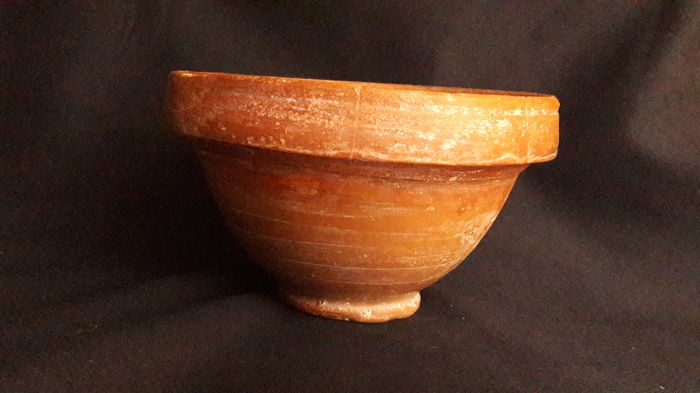 Ancient Roman Pottery / Big in Size Bowl - D. 160 mm