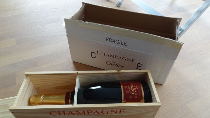 Cartier Champagne Brut Cuvée - 1 magnum (150cl) in box