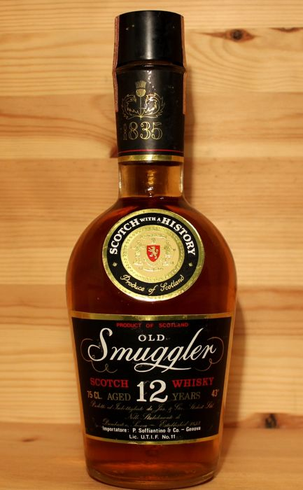 Old Smuggler aged 12 years Scotch Whisky, 75cl 43%vol.