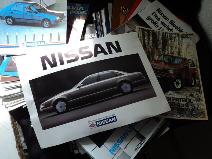 1 Super Nissan package catalogs, brochures, photos, 80s/90s years