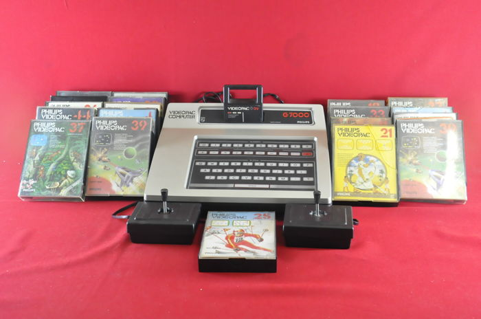 Philips Videopac G7000 Console w/ 20 Games