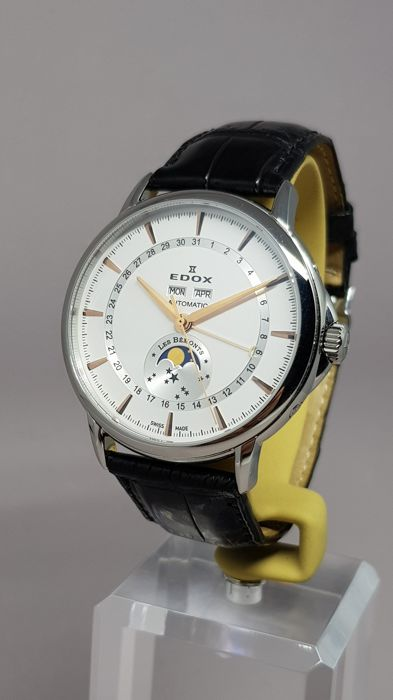Edox - Les Bemonts Moonphase 130th Anniversary Lim. Ed. - 90004 3 AIR - Heren - 2011-heden