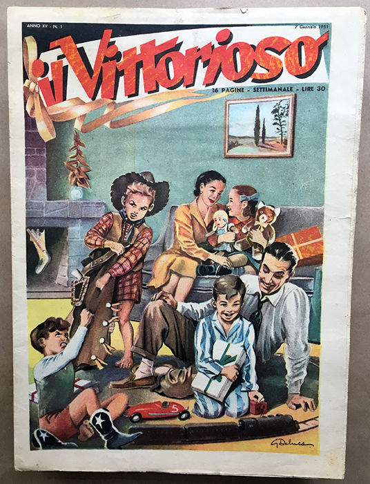 Il Vittorioso – A complete year, issues nos. 1/52 (1951)