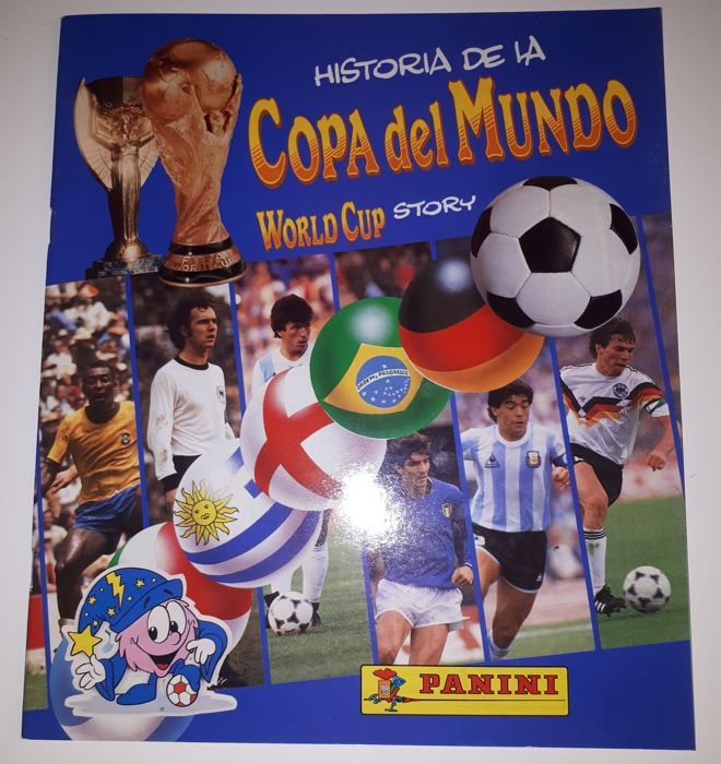 Panini - World Cup Story - 1990 - Complete album including poster