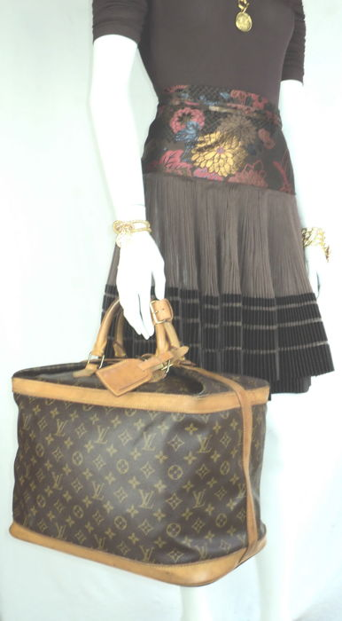 Louis Vuitton - Monogram Cruiser 40 Travel Bag. - Vintage