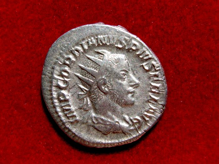 Roman Empire - Gordian III (238-244 A.D.) silver antoninianus ( 3,97 g 22 mm) from Rome mint. SECVRIT PERP