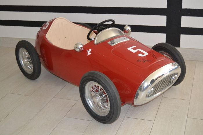Vintage Ferrari Indianapolis F1 500 Pedal Car Signed By Catawiki