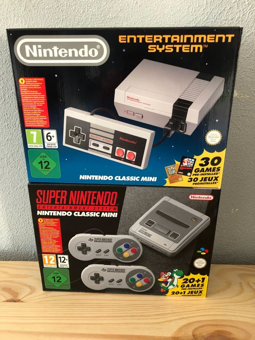 super nintendo classic mini snes new nintendo classic mini nes as new catawiki