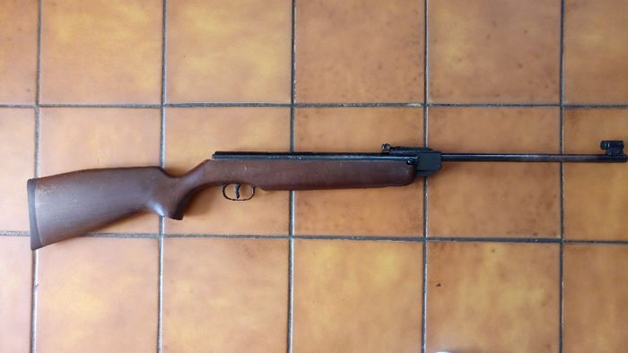 Hunting rifle, VERNEY CARRON model 245, calibre 4.5 mm airgun, made in Germany