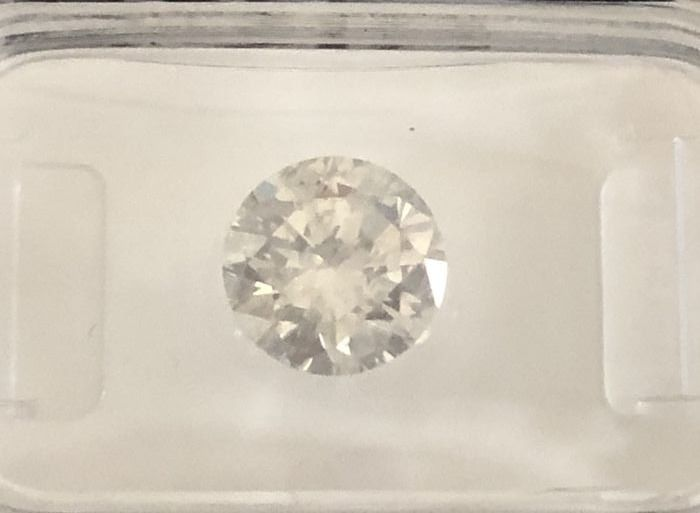 1.69ct Round Brilliant-Cut  Diamond Natural  color G SI2 +++ Low Reserve Price +++
