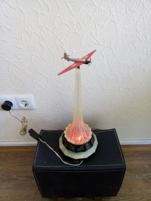 Unknown designer - Night lamp Soviet glider