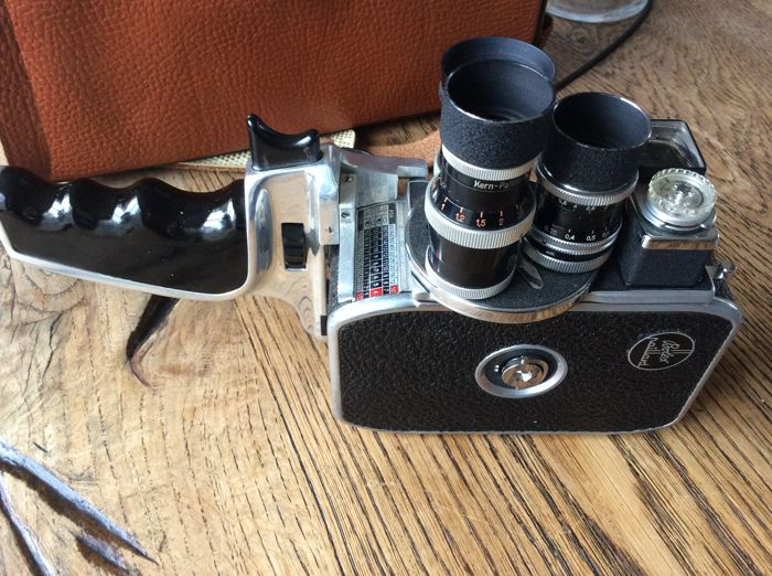 Paillard bolex film camera Switzerland