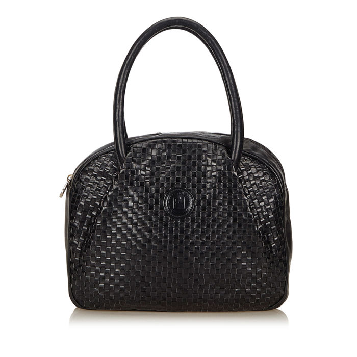 Fendi - Woven Leather Handbag