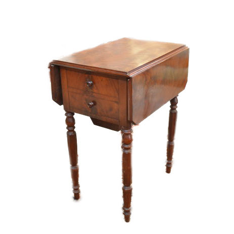 Louis Philippe work table - mahogany - France - ca. 1850