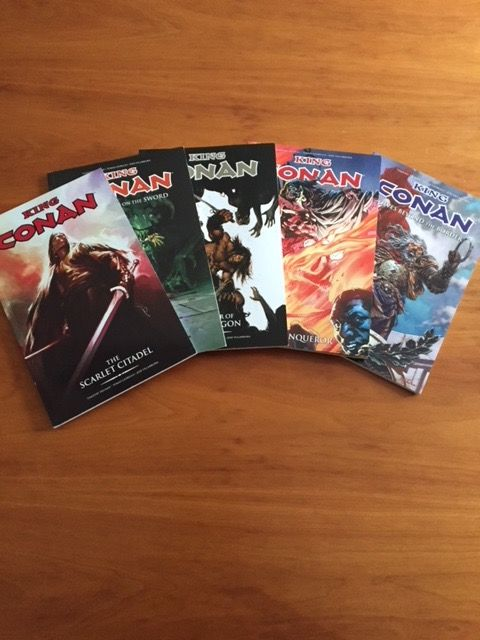 Complete set King Conan collects #1 t/m 24 & The Chronicles of Kull Vol 1 t/m 3  - 8x TPB