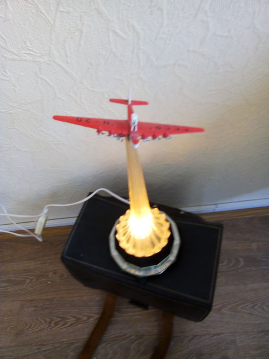 Unknown designer - Night lamp airplane Maxim Gorky