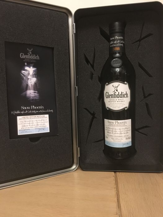 Glenfiddich Snow Phoenix (world's most awarded single Malt scotch Whisky)