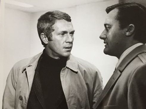 Unknown  -  Steve McQueen, 'Bullitt', 1968