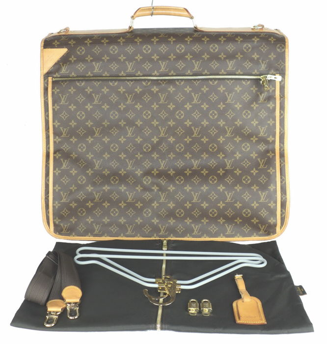Louis Vuitton - Monogram Portable Cabine Travel Garment Bag - Vintage cd3d7b5bf4b60