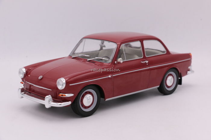 MCG - Schaal 1/18 - Volkswagen 1500 S - Type III - 1963 - Color: Red