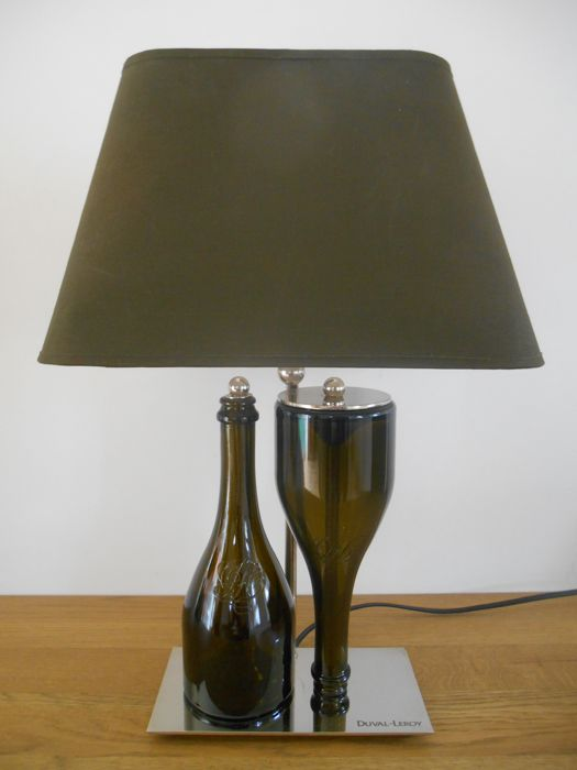 Unknown designer stylish table lamp by champagne house duval leroy unknown designer stylish table lamp by champagne house duval leroy mozeypictures Choice Image