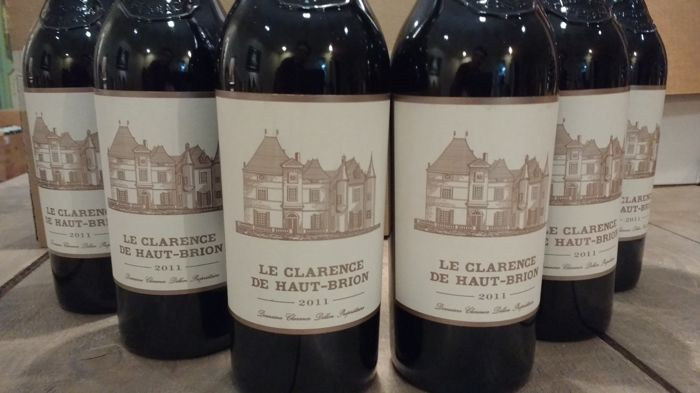 2011 Château Le Clarence Haut-Brion, Pessac-Leognan, second wine Haut Brion - 6 bottles