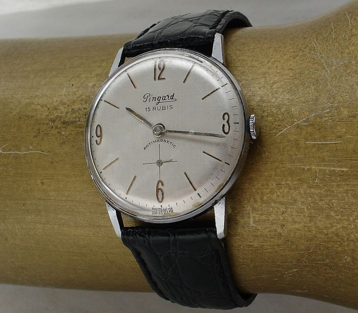 PINGARD - Dresswatch - Oversized - Heren - 1950-1959