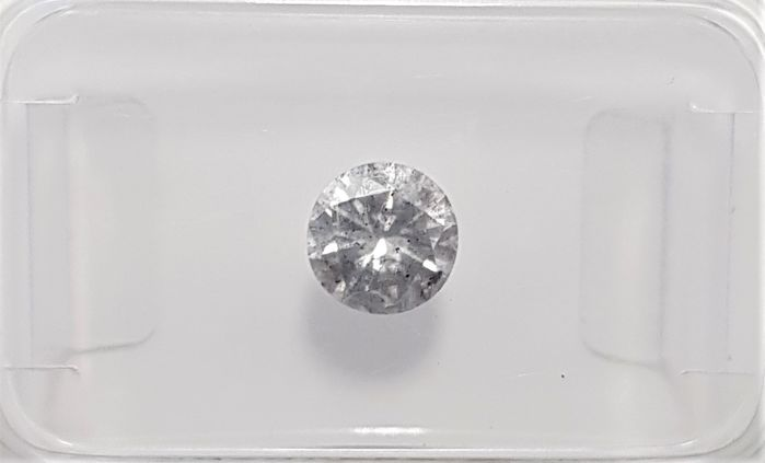 0.54ct Natural Round Brillilant Cut Diamond G SI3 - No Reserve!