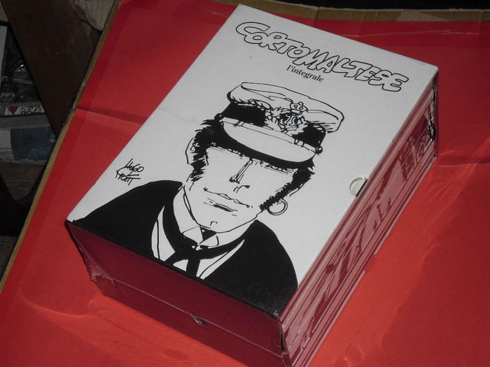 "Pratt, Hugo - sealed box set ""Corto Maltese - L'integrale"""
