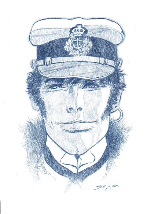 Sanjulian - Original drawing - Corto Maltese
