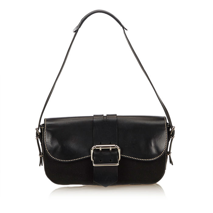 Fendi - Leather Baguette